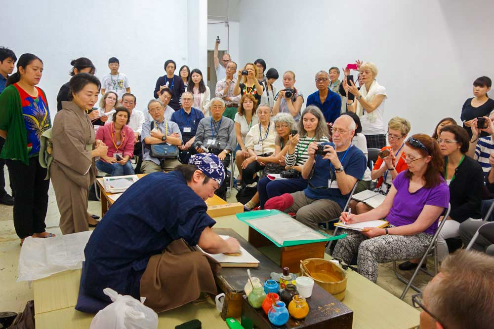 International Mokuhanga Conference Nara 2020
